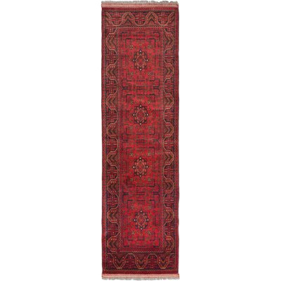 Finest Khal Mohammadi Hand-Knotted Dark Navy Area Rug