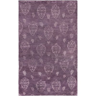 Royal Maroc Hand-Knotted Purple Area Rug