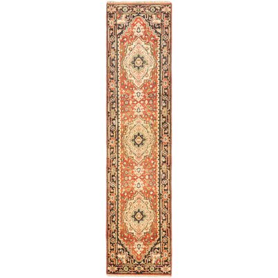 Serapi Heritage Hand-Knotted Copper Area Rug