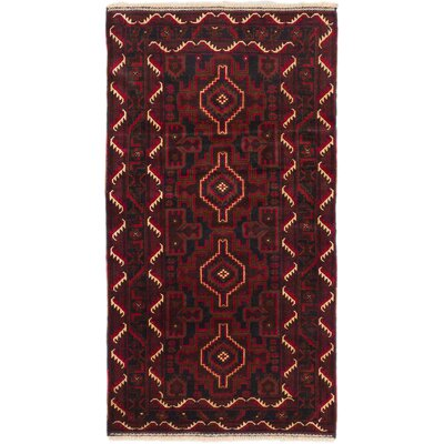 Finest Rizbaft Hand-Knotted Black Area Rug