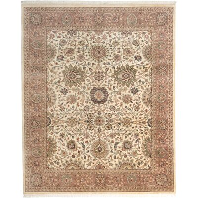 Mirzapur Hand-Knotted Beige/Brown Area Rug