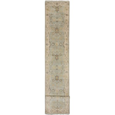 Royal Ushak Hand-Knotted Light Blue Area Rug