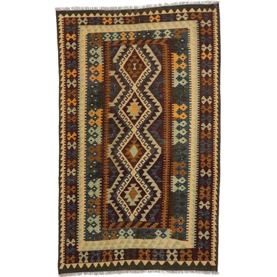 One-of-a-Kind Hereke Handmade Wool Dull Red Area Rug