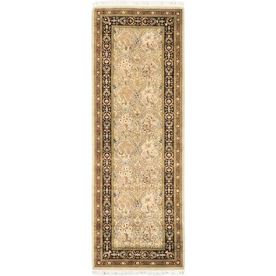 Pako Persian 18/20 Hand-Knotted Beige Area Rug