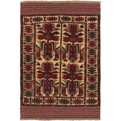Tajik Tribal Hand-Knotted Cream Area Rug