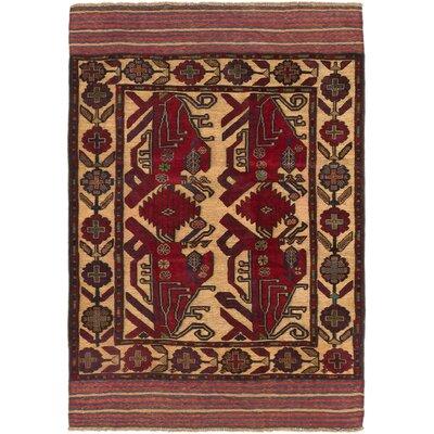 Tajik Tribal Hand-Knotted Khaki Area Rug