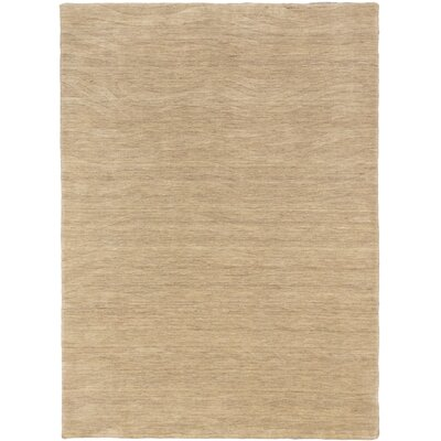 One-of-a-Kind Morrisdale Handmade Wool Khaki Area Rug