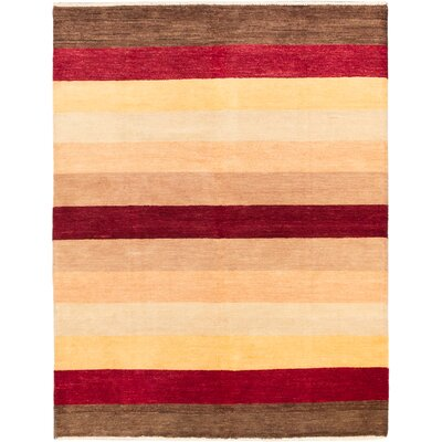 Finest Ziegler Chobi Hand-Knotted Dark Red Area Rug