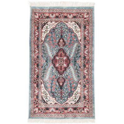 One-of-a-Kind Kashmir Kerman Hand-Knotted Area Rug