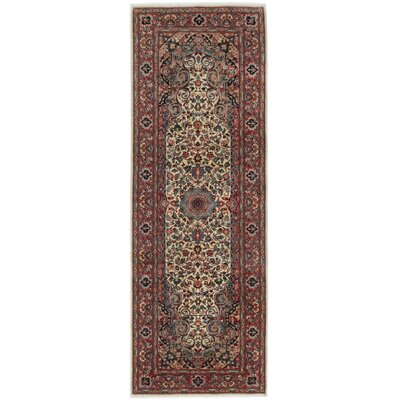 Pako Persian 18/20 Hand-Knotted Cream Area Rug