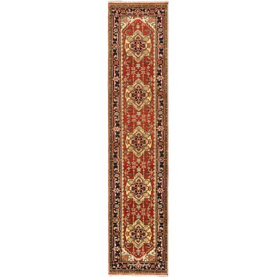 Baldry Hand-Knotted Copper Area Rug