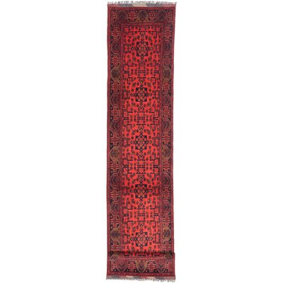 Finest Khal Mohammadi Hand-Knotted Light Red Area Rug