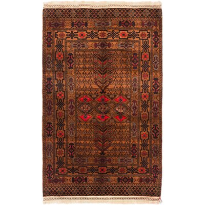 Finest Mouri Hand-Knotted Light Brown Area Rug