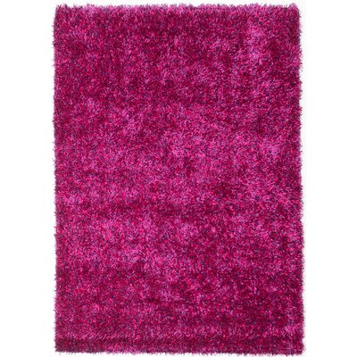 Hand-Tufted Pink/Magenta Area Rug