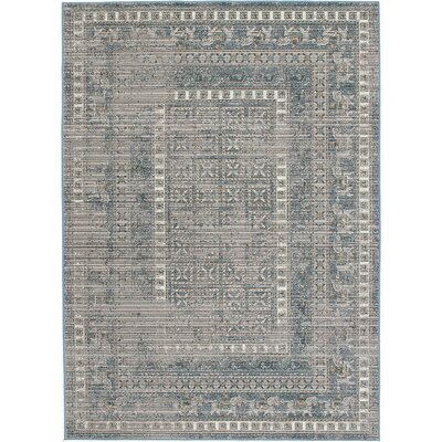 Paradis Gray/Navy Area Rug