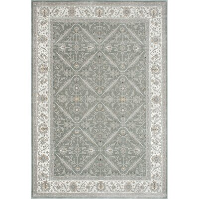 Brylee Gray Area Rug Rug Size: 710 x 112