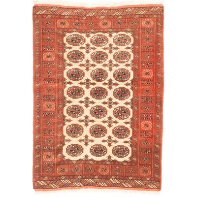 Rudel Hand-Knotted Brown Area Rug
