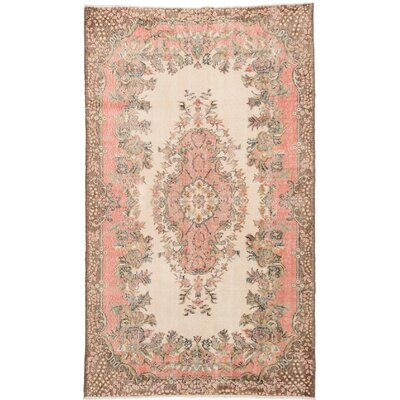 One-of-a-Kind Braintree Hand-Woven Ivory Area Rug