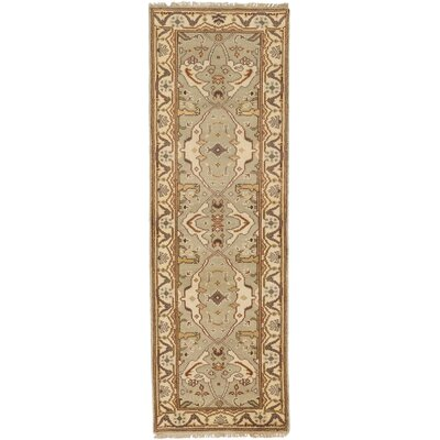 Royal Ushak Hand-Knotted Ivory Area Rug