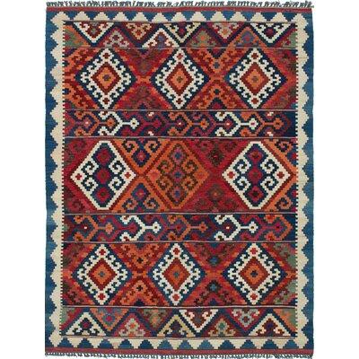 Qashqai Persian Blue Area Rug