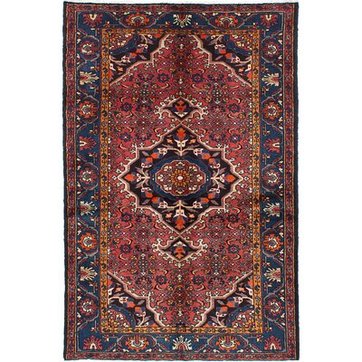 Tafresh Persian Hand-Knotted Brown Area Rug
