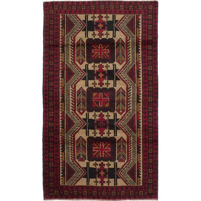 One-of-a-Kind Rizbaft Hand-Knotted Ivory Area Rug