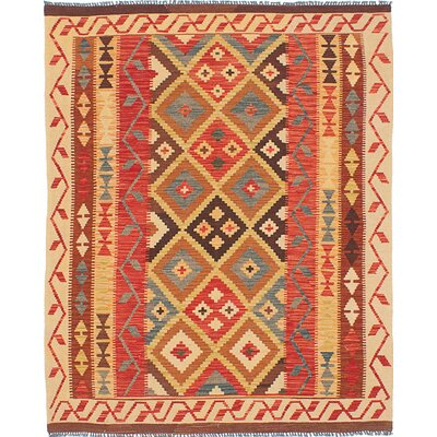 Braintree Kilim Handmade Red Area Rug