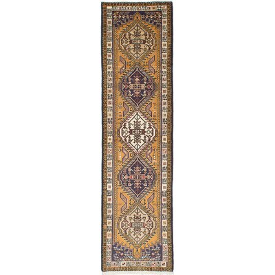 Brooke Hand-Knotted Brown Area Rug