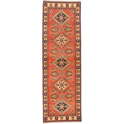 One-of-a-Kind Finest Kargahi Hand-Knotted Copper Area Rug
