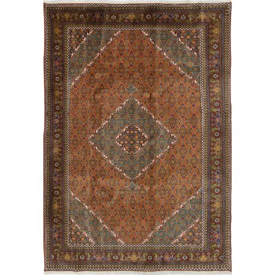 One-of-a-Kind Lin Hand-Knotted Copper Area Rug