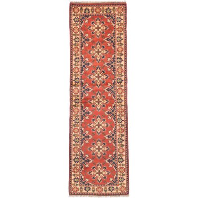 One-of-a-Kind Finest Kargahi Hand-Knotted Dark Copper Area Rug