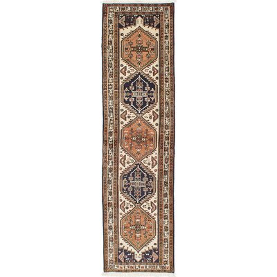 Lin Hand-Knotted Cream Area Rug