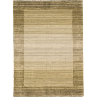 Moriah Hand-Knotted Yellow Area Rug