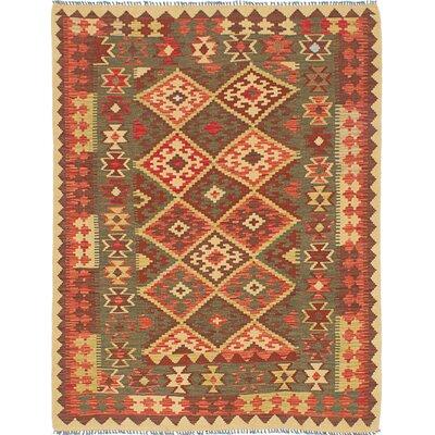 Sivas Handmade Red/Yellow Area Rug