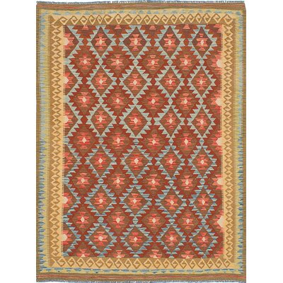 Sivas Handmade Brown/Red Area Rug