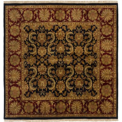 Sultanabad Hand-Knotted Brown/Red Area Rug