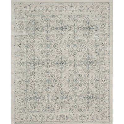 Ziegler Cream Area Rug Rug Size: Rectangle 8 x 10