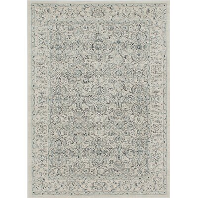 Ziegler Cream Area Rug Rug Size: Rectangle 5 x 7