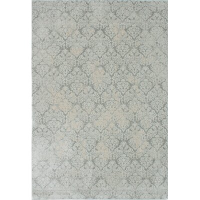 Bonis Well Gray Area Rug Rug Size: 710 x 112