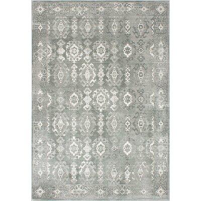 Eden Cream/Gray Area Rug Rug Size: 710 x 112
