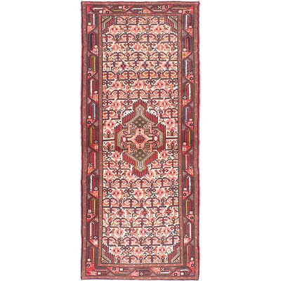 Koliai Handmade Red Area Rug
