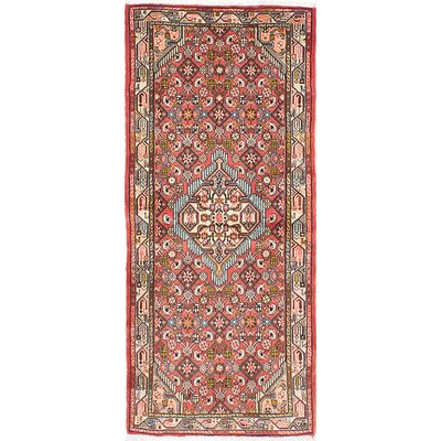 Koliai Hand-Knotted Brown Area Rug