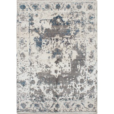 Elixir Hand-Knotted Cream Area Rug