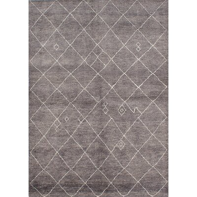 Bridgewater Hand-Knotted Dark Gray Area Rug