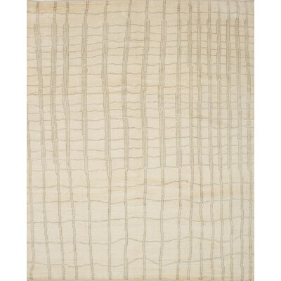 Bridgewater Hand-Knotted Ivory Area Rug