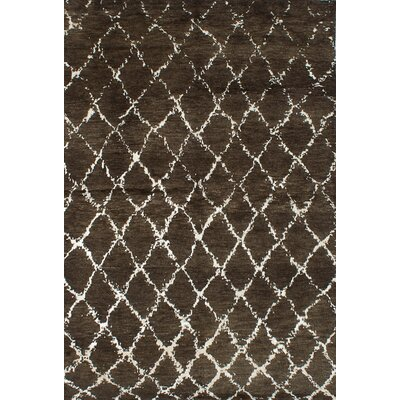 Bridgewater Hand-Knotted Dark Green Area Rug