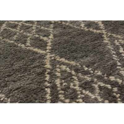 One-of-a-Kind Bridgewater Hand-Knotted Gray Indoor Area Rug