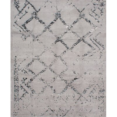 Bridgewater Hand-Knotted Gray Area Rug