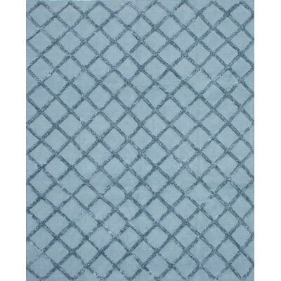 Cambridge Handmade Light Turquoise Area Rug