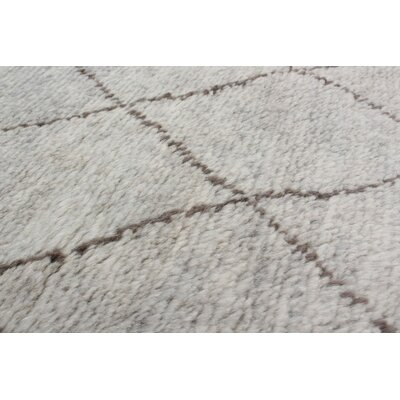 One-of-a-Kind Bridgewater Hand-Knotted Light Blue Area Rug